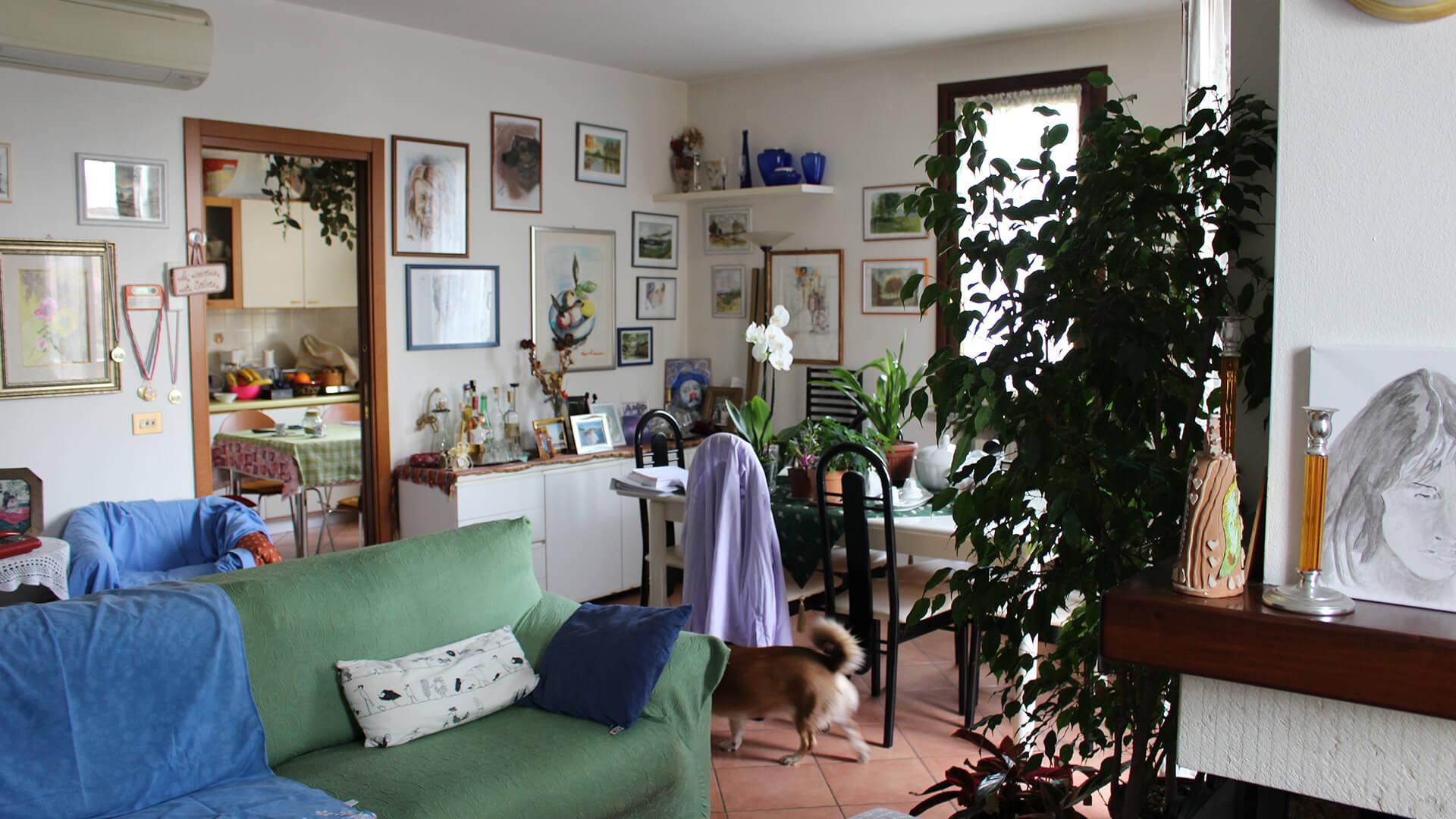carta bianca progetto home staging villa a schiera reggio emilia prima intervento