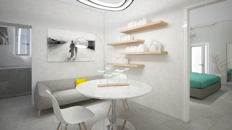 mini appartamento virtual staging foto 1