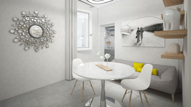 mini appartamento virtual staging foto 2