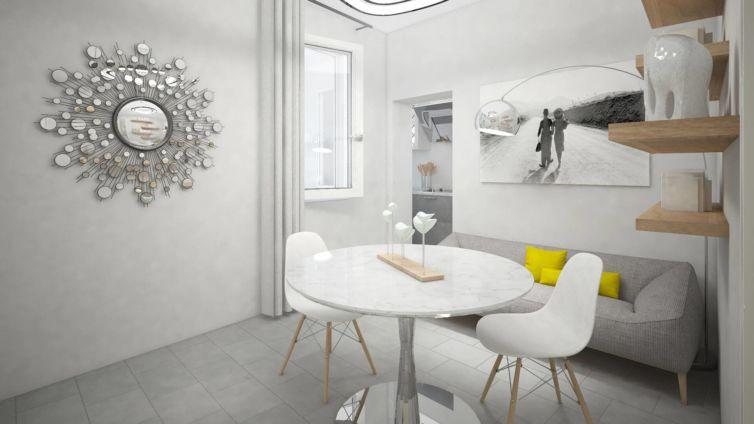 Un Piccolo Grande Mini – Virtual Staging appartamento al grezzo a Parma