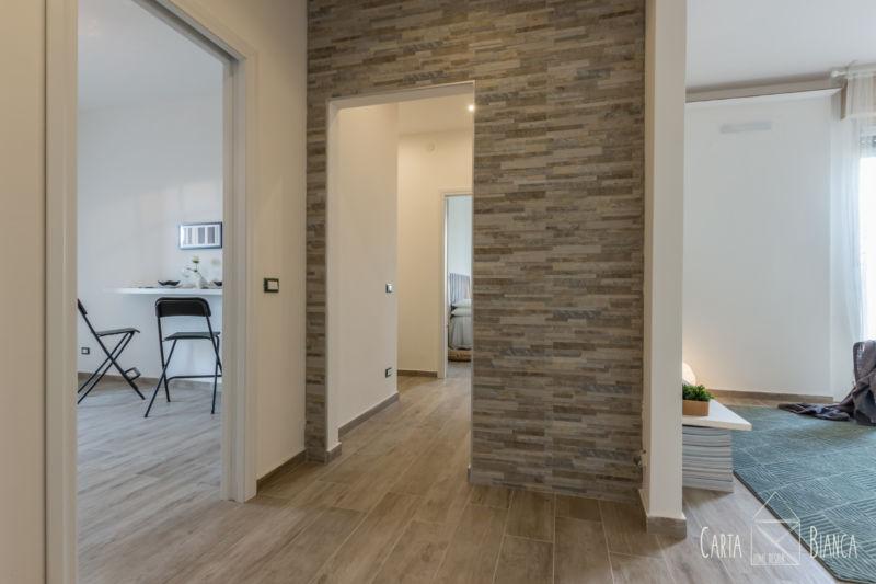 home staging appartamento vuoto