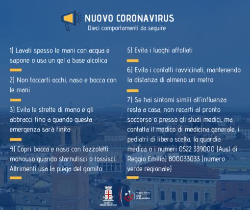 coronavirus reggio emilia