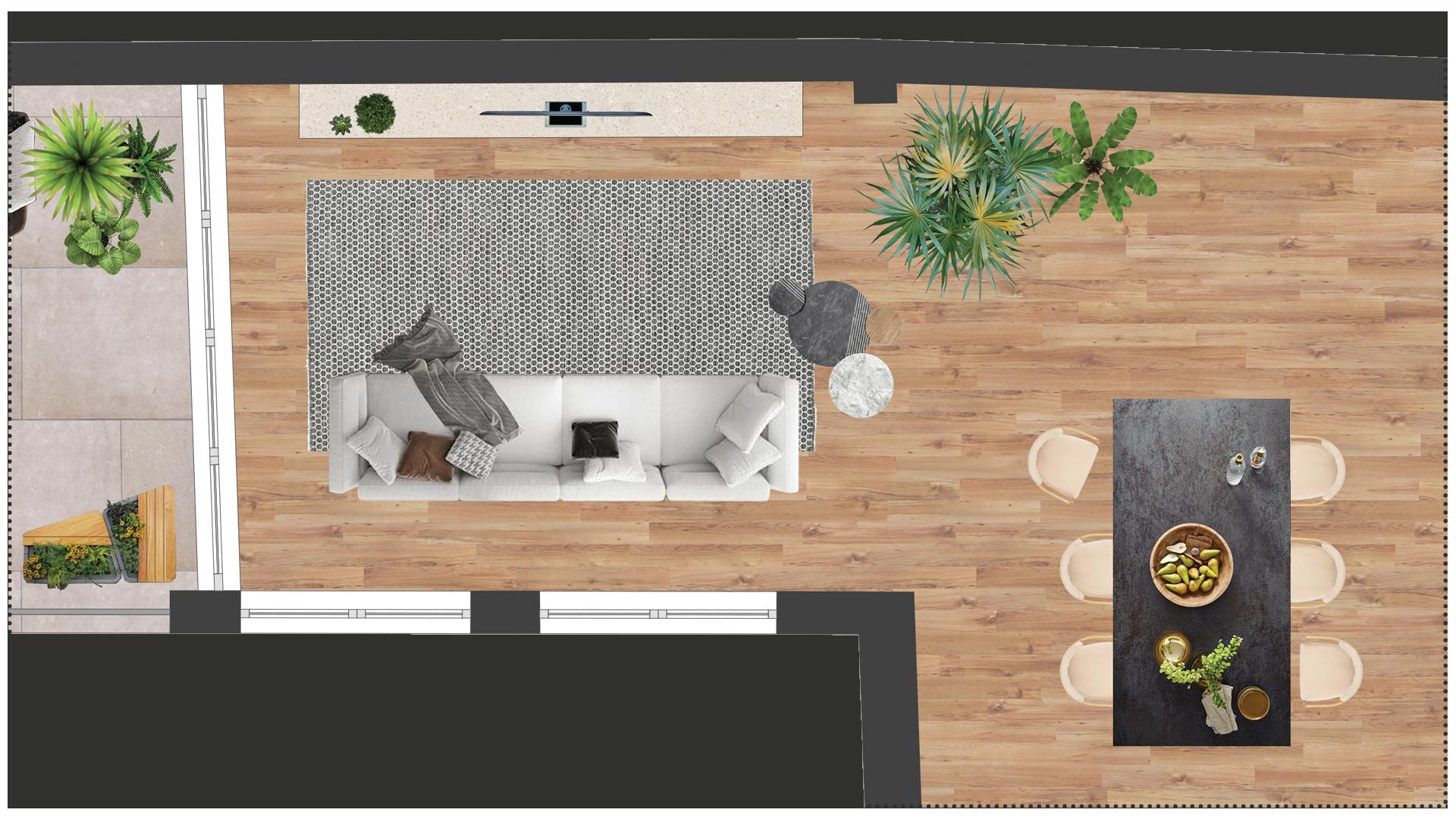 planimetria realistica casa vendita reggio emilia parma