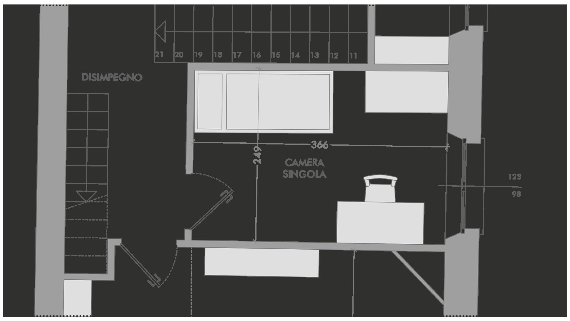 planimetria tecnica casa vendita reggio emilia parma