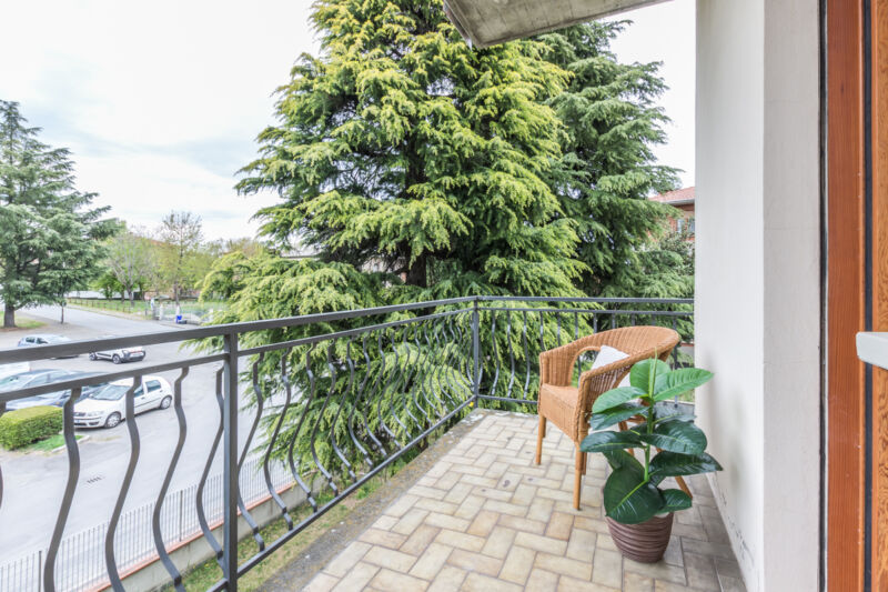 home staging parma balcone